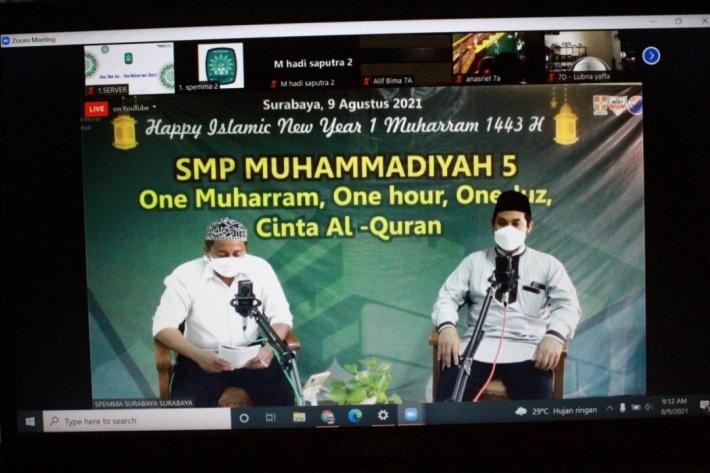 Peringati 1 Muharam, Spemma Ajak Siswa Cinta Al-Quran