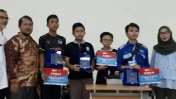 SMP Muhammadiyah 5 Pucang Surabaya Juara Robotik Tingkat Internasional