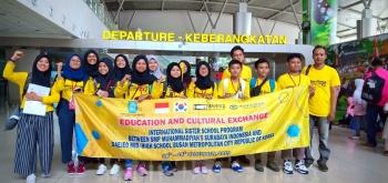 23 Siswa Spemma Student Exchange ke Thailand dan Korsel, Bawa Misi Pendidikan dan Kebudayaan