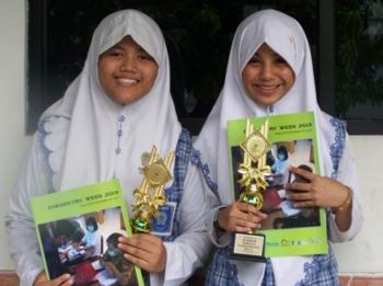 Aldhia Safiranisa & Syarifah Nadhira Asyafira
