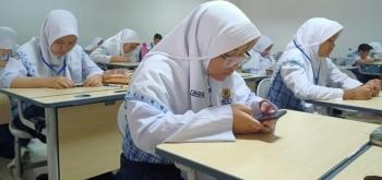 Ujian dengan Gawai, Nilai Siswa Langsung Diketahui Sehari Setelahnya